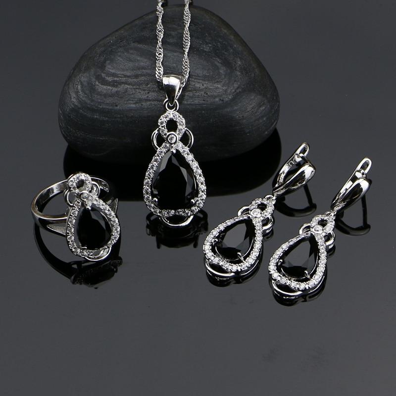 Punk Silver 925 Jewelery...