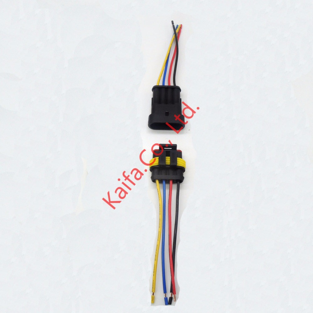 auto electrical wiring harness promotion shop for promotional auto 1 sets 4 pin car waterproof electrical connector plug electrical wire cable car auto truck wire harness