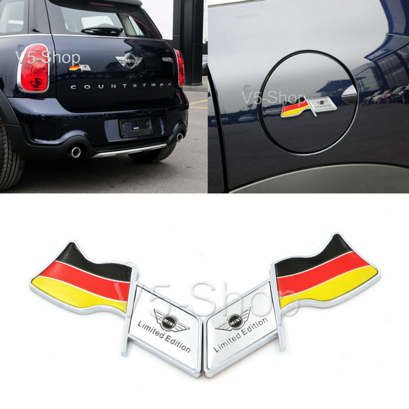 Car body sticker oil fuel tank cap cover decal germany flag for bmw mini cooper s countryman on aliexpress com alibaba group