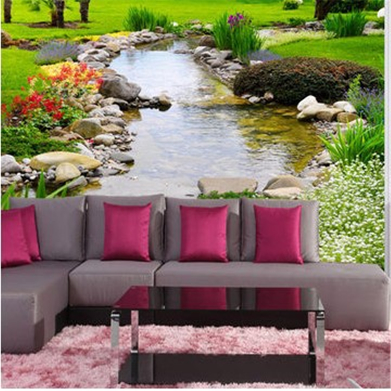 Custom photo wallpaper large wall painting background wall for 3d wallpaper for living room in dubai