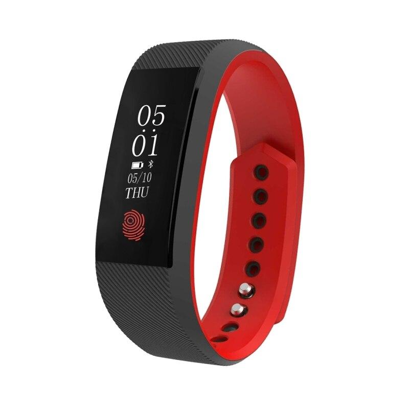 Waterproof Smart Bracelet Heart Rate Monitor Touch Screen Bluetooth Wristband Fitness Tracker wrist band inteligente
