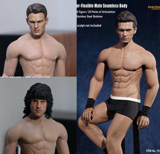 1/6 Super flexible male figure Body building seamless body with metal skeleton for 12 action figure doll Collectible Model toy трусы 4 штуки quelle le jogger 200971