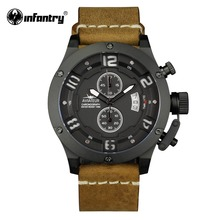 INFANTRY Military Watch Men Chronograph Waterproof Mens Watc