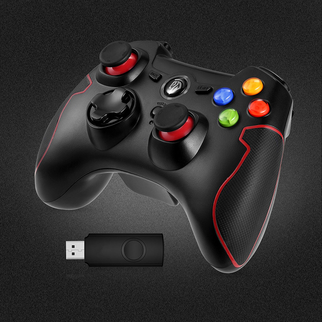 EasySMX ESM-9013 Wireless Gamepad Joystick Game Controller Compatible with PC PS3 TV Box Android Smartphone Joypad Controller