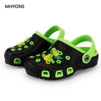 2020 New Fashion Boy Girls Cartoon Sandal Children Garden Shoes Babies Summer Slippers High Quality Kids Garden Children Sandals