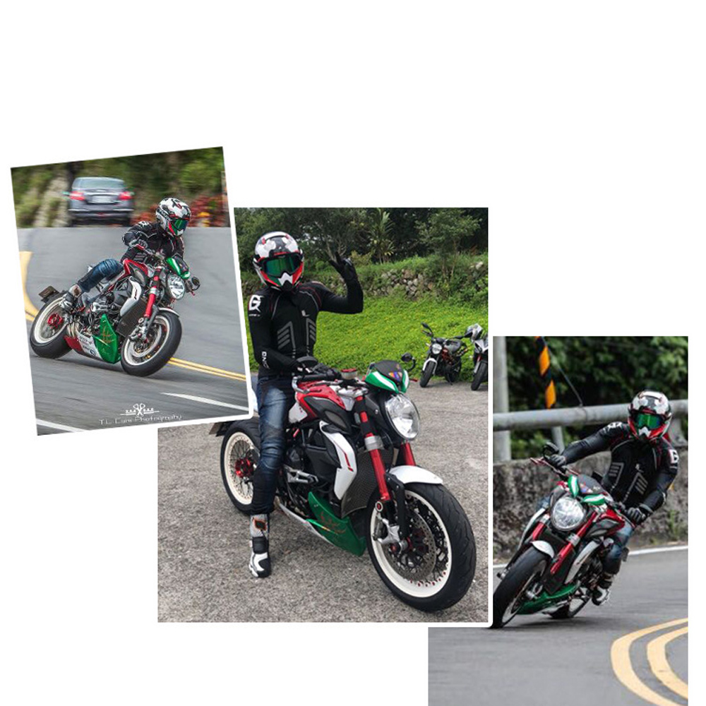 GHOST RACING Motorcycle Jacket Motocross OFF Road Protective Gear safety Body Armor Moto Racing Jacket MTB Protection Clothing