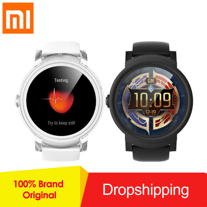 Xiaomi Ticwatch E Bluetooth 4.1 Smart Watch WIFI GPS 512M+4G  Smartwatch Waterproof Fitness Tracker MT2601 Dual Core 1.2GHz new