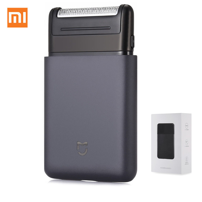Xiaomi Electric Shaver With Shaver Head Mijia Portable Electric Razor USB Rechargeable 60HRC Steel Mens Travel  Xiaomi Mi Home