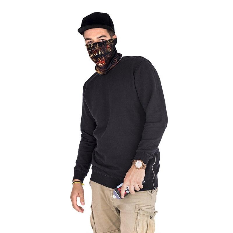 Купить с кэшбэком 3D Zombie Face Multi Scarf Riding Headscarf For Men And Women Featured Bandana Headband