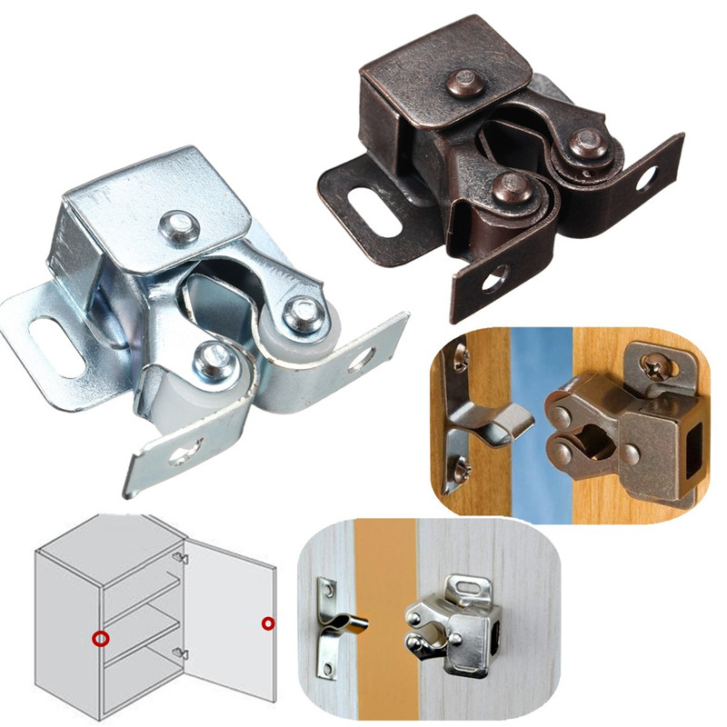 Home Safely Security Cabinet Door Drawer Magnetic Catch Stopper With Chrom Copper Hot