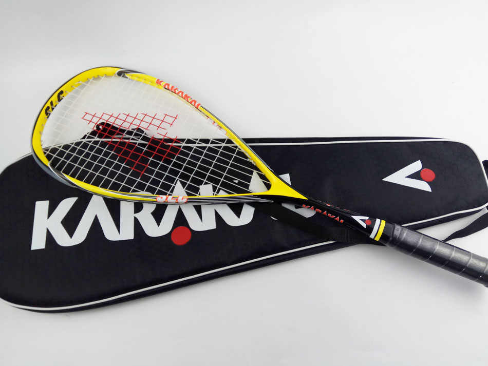 Karakal Squash Racket With String Bag Carbon Squash Racquets Professional Squash Raquete Men Squash Trainers Training Racket