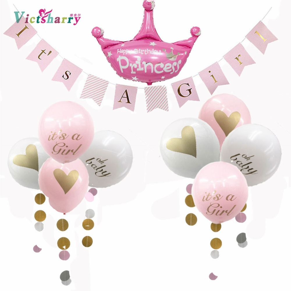 Diy Baby Shower Decorations Girl