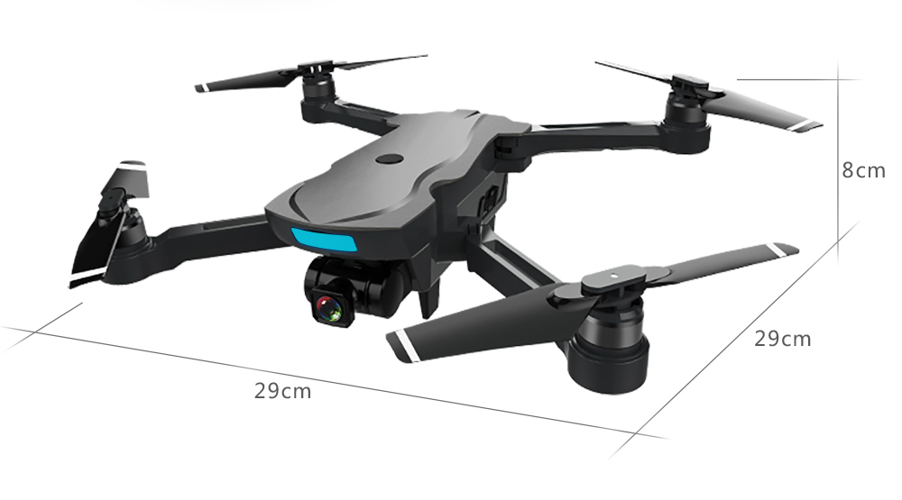 AOSENMA CG033 Drone Brushless Motor GPS RC Drone with 1080P HD Camera WiFi FPV Easy Fly mins RC Helicopter VS S70W Drone 27