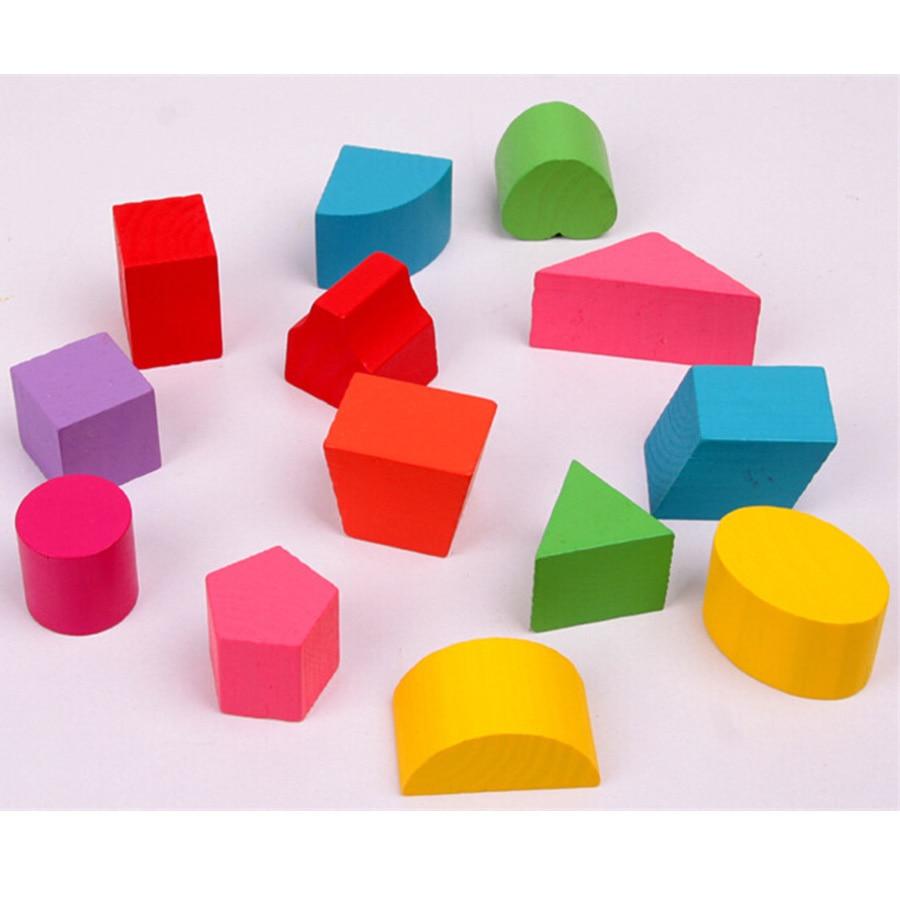 Vauvapuiset lelut Montessori Kids Brinquedos Educativos Lasten - Rakentaminen lelut - Valokuva 5