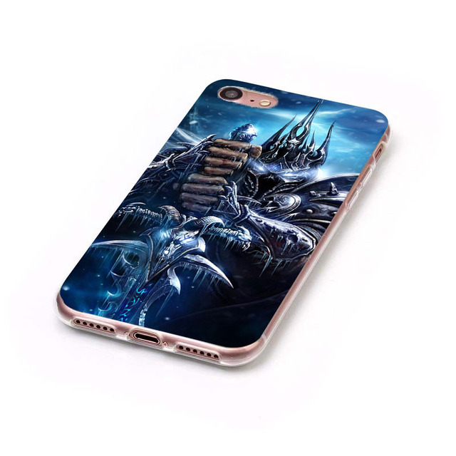 Wows World Of Warcraft Soft TPU  Slim Silicone Phone Case for iPhone 5S 5 SE 5C 4 4S 6 6S 7 Plus Cover