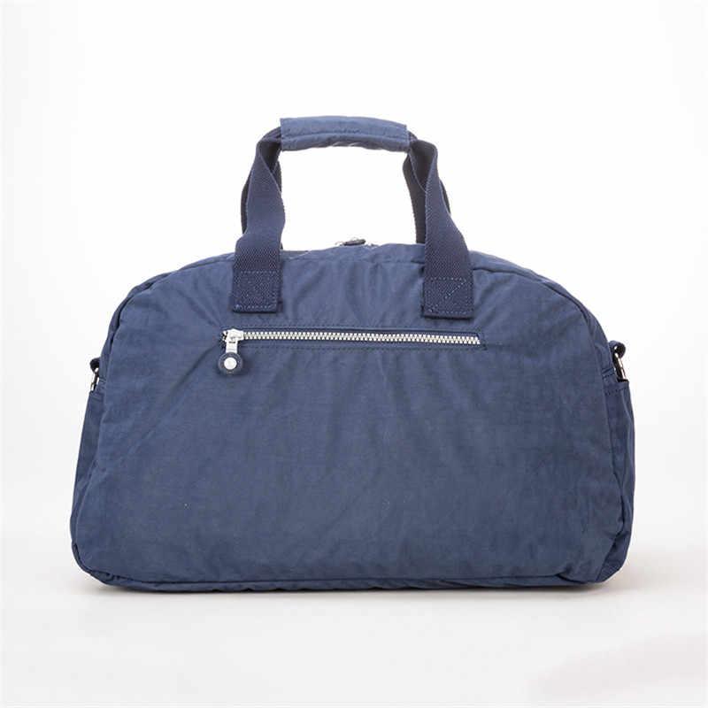 TEGAOTE дорожная сумка женская большая емкость снаряжение, чемодан сумки нейлоновые водонепроницаемые портативные повседневные сумки для девушек