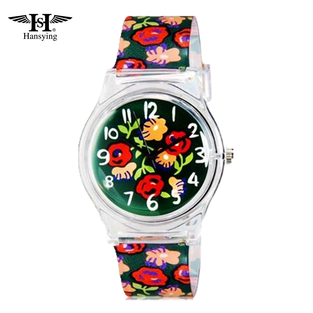 Hansying Mini Student's Kid's Flowers Analog Quartz Wrist - Jam tangan anak anak - Foto 3