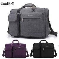 Nylon Laptop messenger Shoulder portable For macbook pro 15 Retina 15.4 15.6 17 computer backpack 17.3 Notebook bag 14 handbag