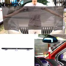 Vehemo 135x58CM Mesh Retractable Auto Sun Visor Solar Protection Car Sunshade