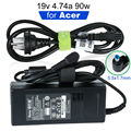 19v 4.74a 90w 5.5*1.7mm Ac Power Charger Adapter for Acer Aspire Notebook Charger 4741g 4750g 5750g 5950G 7720 Laptop Adapter