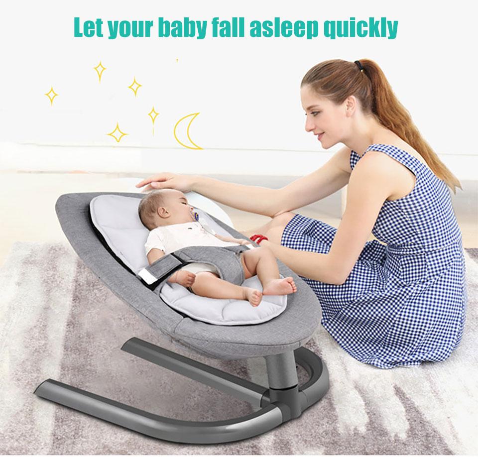 HTB1BozkazzuK1RjSspeq6ziHVXat IMBABY Baby Rocking Chair Baby Cradle Baby Swing Rocking Chair For Newborns Swing Chair Infant Cradle Baby Swing Rocking Chair