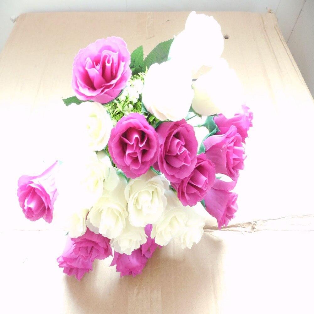 Good Quality Flower Boutiquet 24 Heads 1 Boutique Silk Flower