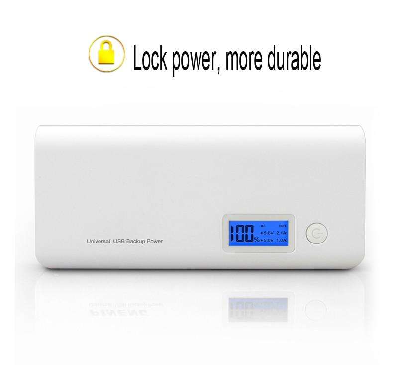 Banco do Poder novo banco de potência portátil Bateria : Li-bateria de Polímero