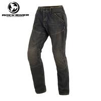 2018 MOTO Loose Cotton Denim Jeans Motorcycle trousers pantalon moto hombre equipamento motocross racing pants