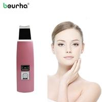Beurha Tragbare Ultraschall Haut Ultraschall Poren Reinigung Gesicht Schälmaschine Akne Gesicht Porenreiniger Tiefenreinigung Massager