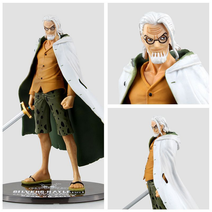 Anime One Piece Figure Silvers Rayleigh Gol D Roger Monkey D Luffy Figure Figuarts Zero 17CM PVC Action Figure Heroes Model hot