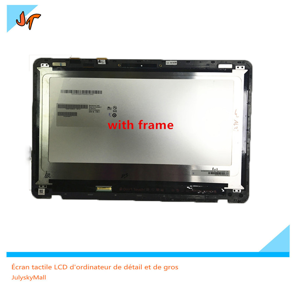 With frame 13.3  LCD Screen for ASUS Zenbook UX360 UX360UA Full HD touch screen 1920 * 1080 Display PanelWith frame 13.3  LCD Screen for ASUS Zenbook UX360 UX360UA Full HD touch screen 1920 * 1080 Display Panel