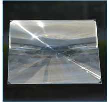 2PCS 250x250mm Square PMMA Plastic Solar Condensing Fresnel Lens Focal Length 200mm Plane Magnifier,Solar Energy Concentrator 200x200mm square acrylic plastic fresnel condensing lens solar energy focal length 140mm for plane magnifier solar concentrator