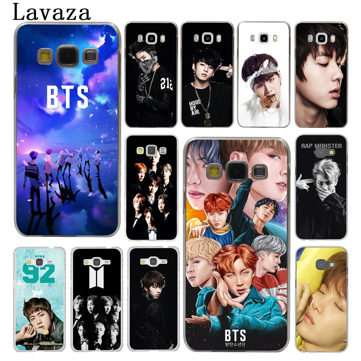 Lavaza BTS Bangtan Boys Jimin ARMY Hard Phone Case for Samsung Galaxy J7 J1 J2 J3 J5 2015 2016 2017 Prime Pro Ace 2018 Cover