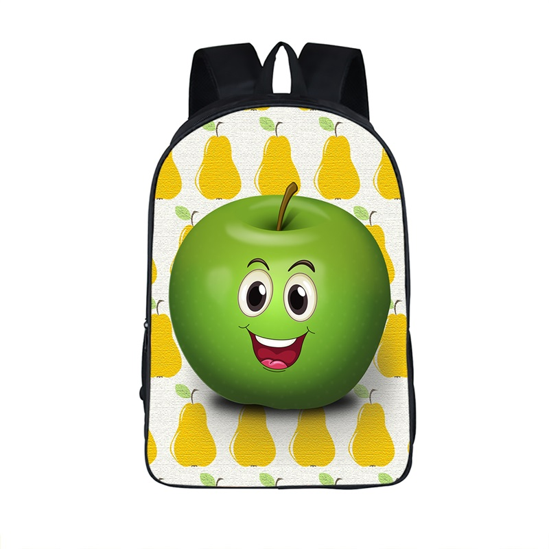 Aliexpress.com : Buy Funny Apple Face Bag Backpack Women