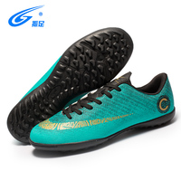 Indoor Men Football Shoes Sport Street Soccer Shoes Male Sneakers PU 3D Printing Football Boots For Trainer Men Soccer Shoes