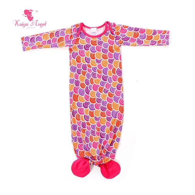 Kaiya Angel 2017 Baby Sleep Bag Bow 3 4 Sleeve Spring Baby Clothes