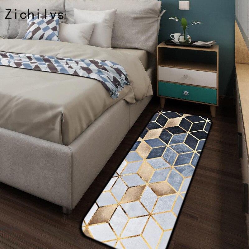 Bedroom Black Rug Glass Bedroom Door Bedroom Paint Ideas Feature Walls Bedroom Door Colors: Zichilvs Modern Metal Golden Carpet Black Geometric