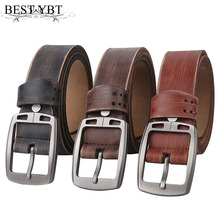 Casual Alloy Pin Buckle Belt For Men