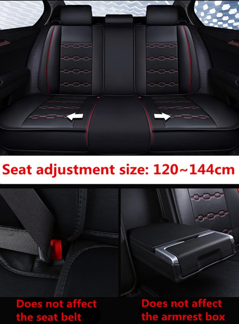 Housse de siège auto housses de siège auto pour Mitsubishi asx colt evo lution galant grandis l200 lancer 10 9 xl evo carisma montero sport - 6