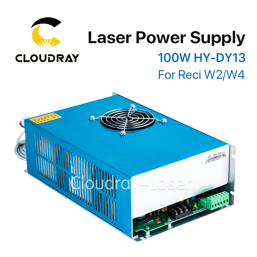 Cloudray DY13 Co2 Laser Power Supply For RECI Z2/W2/S2 Co2 Laser Tube Engraving / Cutting Machine high voltage flyback transformer for reci dy13 co2 laser power supply