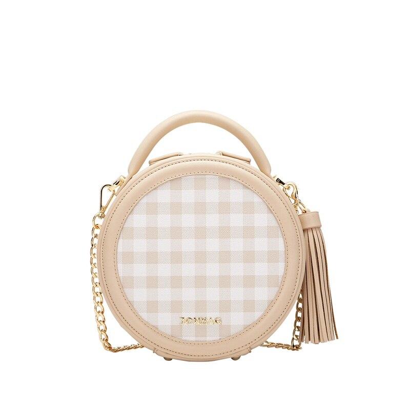 JONBAG frauen kleine tasche weibliche geschlungen nette 2019 neue stil modelle sommer sommer kette kleine runde tasche handtasche - 5