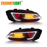 CNSUNNYLIGHT For VW/Volkswagen Polo 2011 2017 Car Headlight Assembly LED DRL Turn Signal Xenon HID Projector Lens Plug and Play