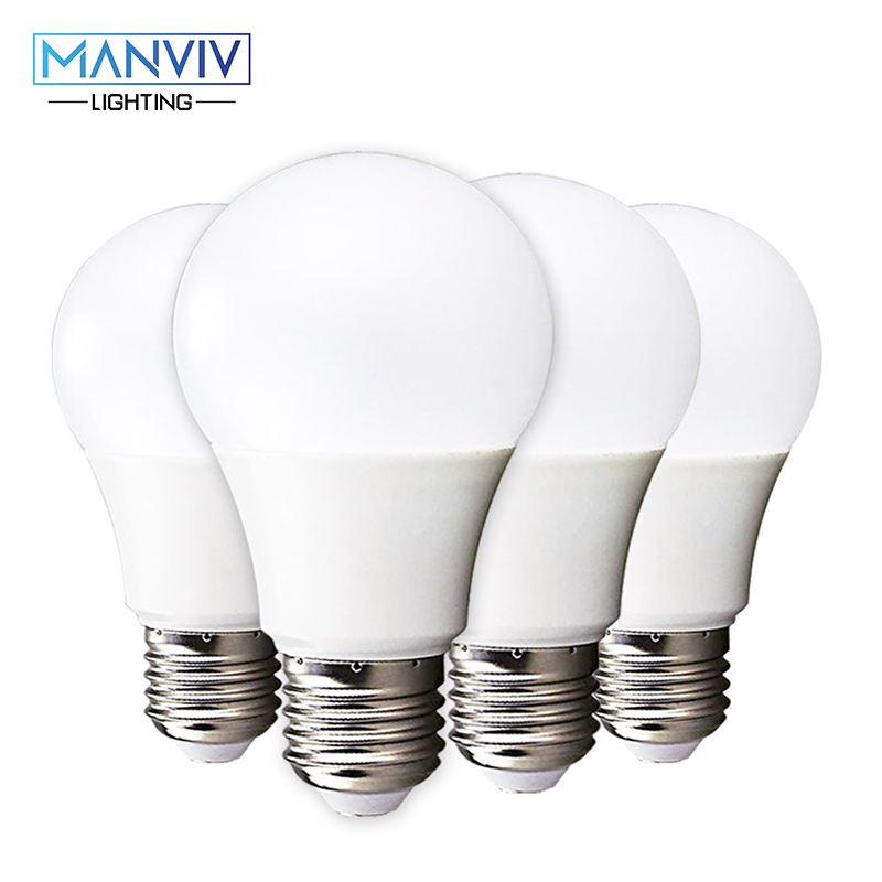 10PCS/Lot LED Bulbs E27 18W 15W 12W 9W 7W 5W 3W 220V Warm White Cold White  Lampada LED Spotlight Table Lamp Light Night Light