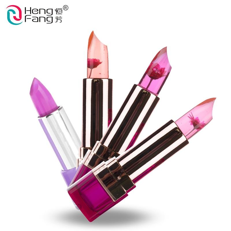 Temperatura-mudou lábios nutritivos batom lip balm 7 cores lipbalm 3.5g marca de maquiagem hengfang # h9223-h9266