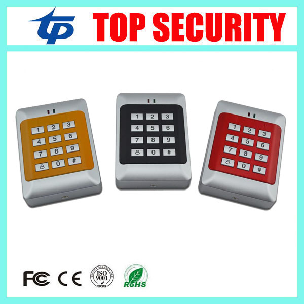 10pcs a lot cheap price good quality 125khz RFID card proximity card access control reader systems different color card reader