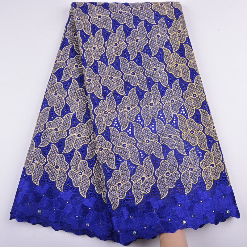 Double Color Swiss Voile Lace In Switzerland High Quality Embroidery Dry Laces Fashion African Swiss Lace