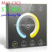LED сенсорной панели освещения регулировка цветовой температуры контроллер протокола dmx512 контроллер 8 канала 4 Сцены