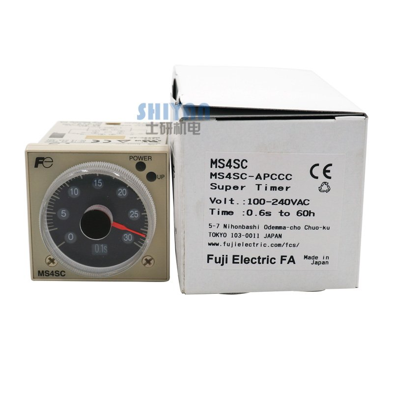 US $45 0 |Free shipping Genuine Fuji FUJI Time Relay MS4SC AP On Delay  MS4SM/MS4SA/MS4SC-in Instrument Parts & Accessories from Tools on