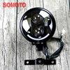High Quality Motorcycle Headlamp Universal Cafe Racer Vintage Motorbike Front Light Far Light