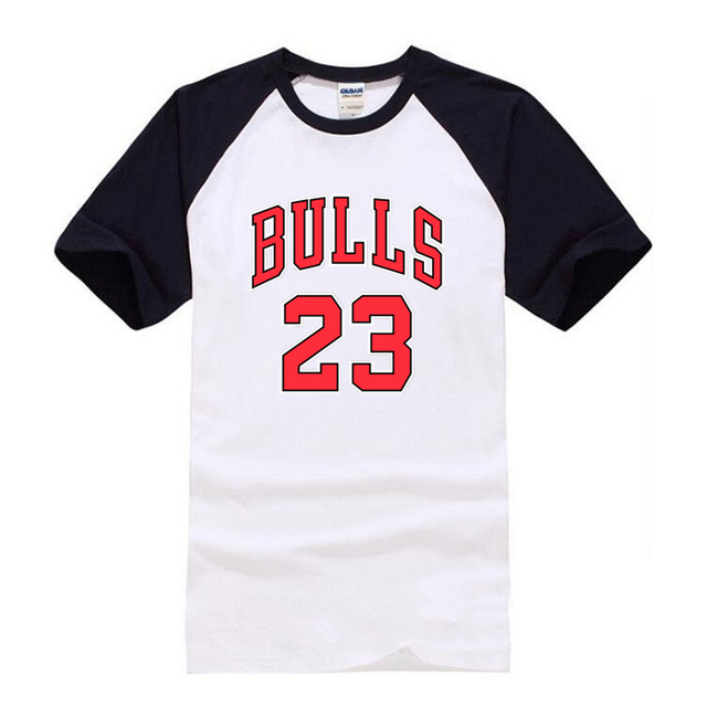 8af1f5cd9 ... cheap new chicago bulls 23 jersey t shirt men women jordan t shirt  fashion brands 40d92